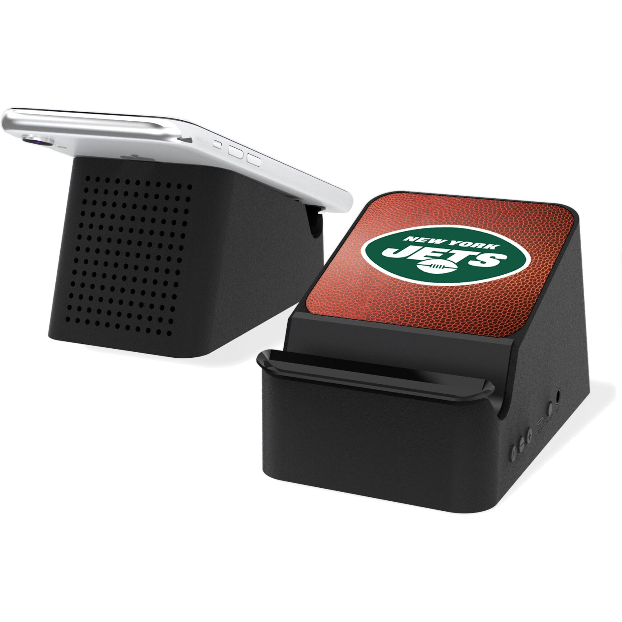 New York Jets Wireless Charging Station & Bluetooth Speaker