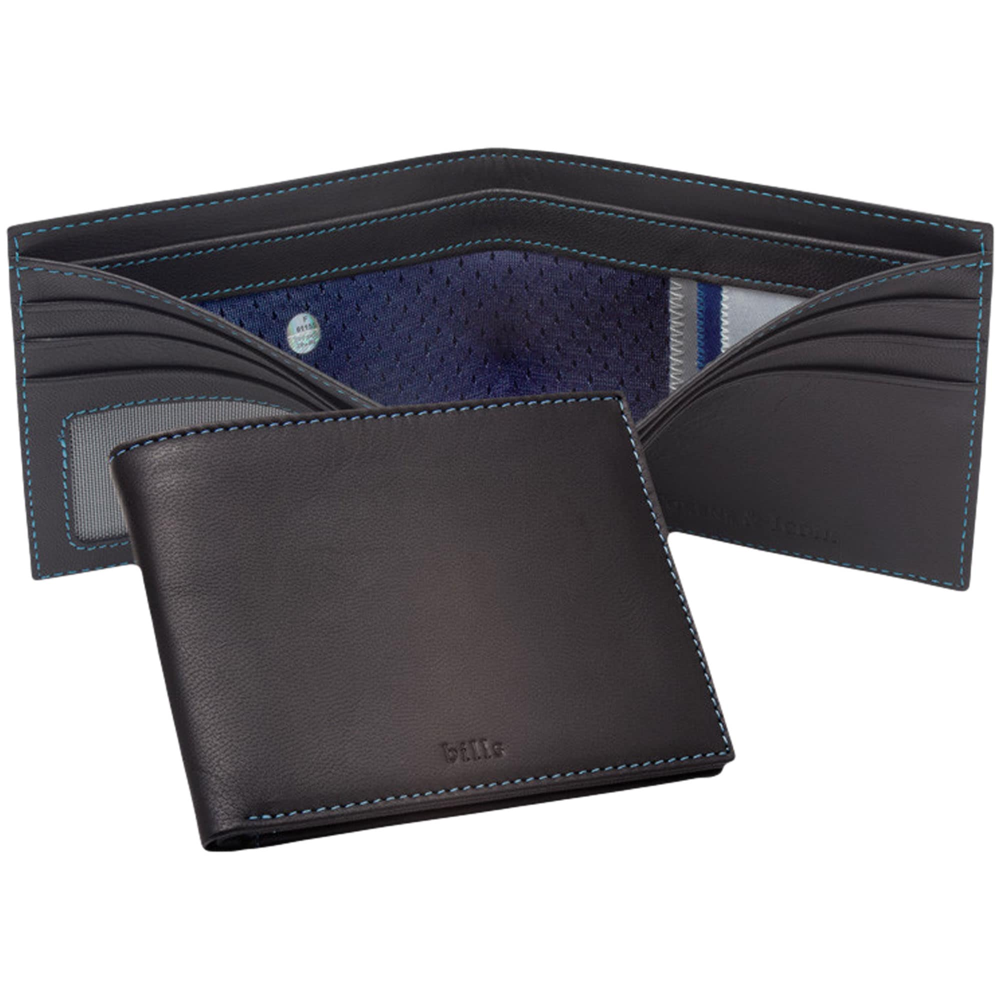 Buffalo Bills Tokens & Icons Game-Used Uniform Leather Wallet