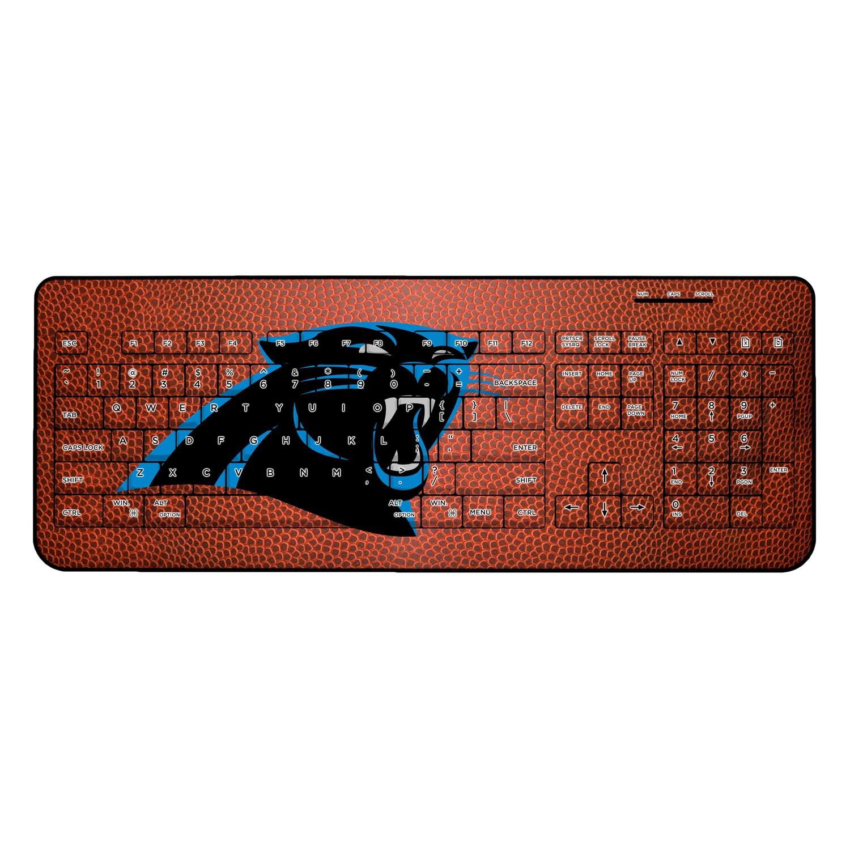 Carolina Panthers Football Design Wireless Keyboard
