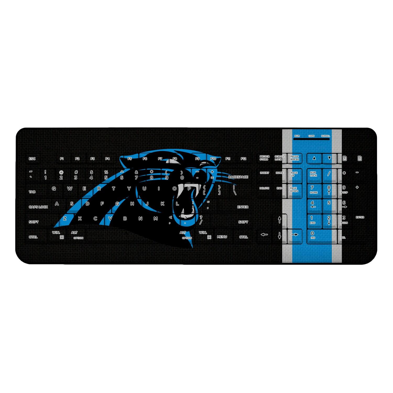 Carolina Panthers Stripe Wireless Keyboard