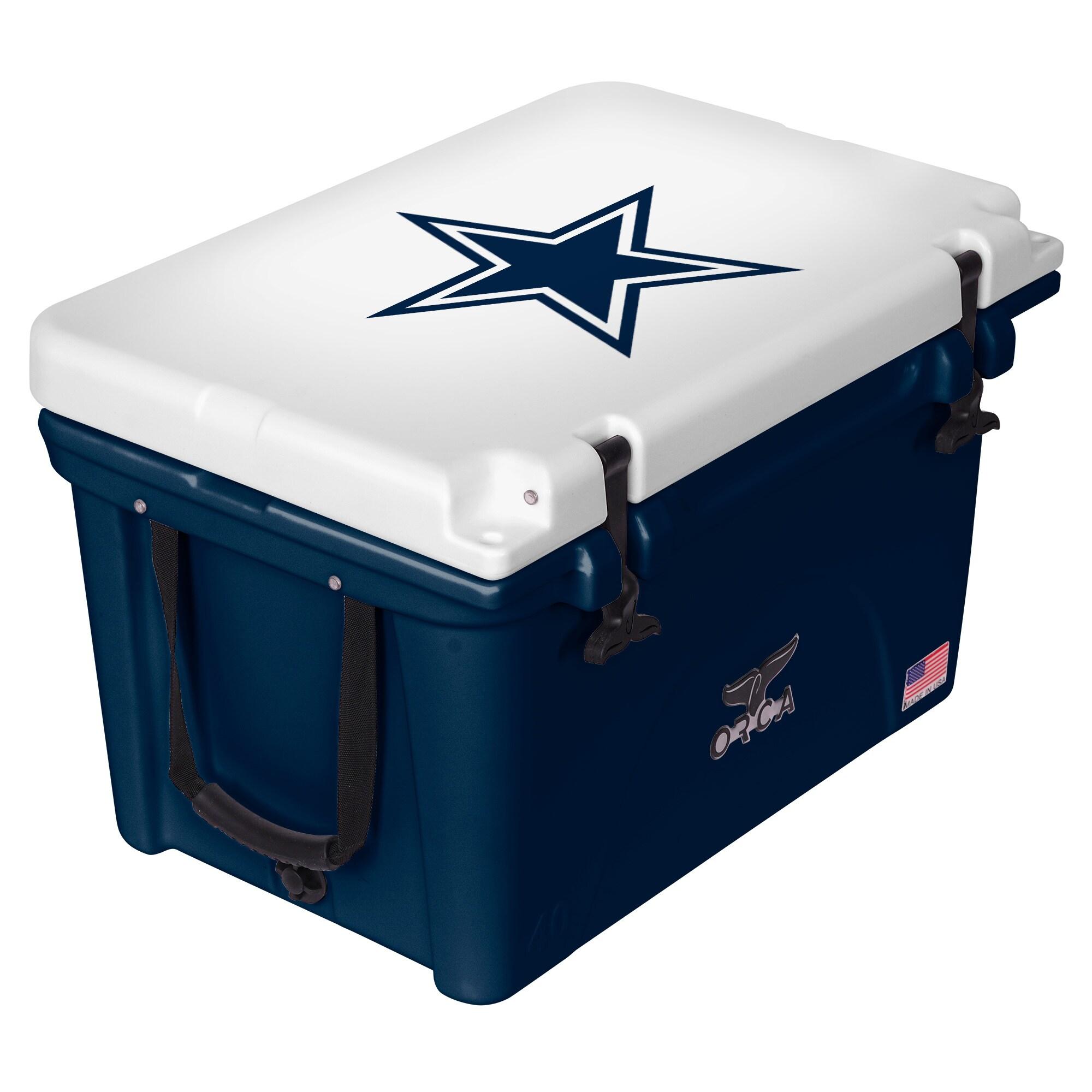 Dallas Cowboys ORCA 40-Quart Hard-Sided Cooler - Navy/White