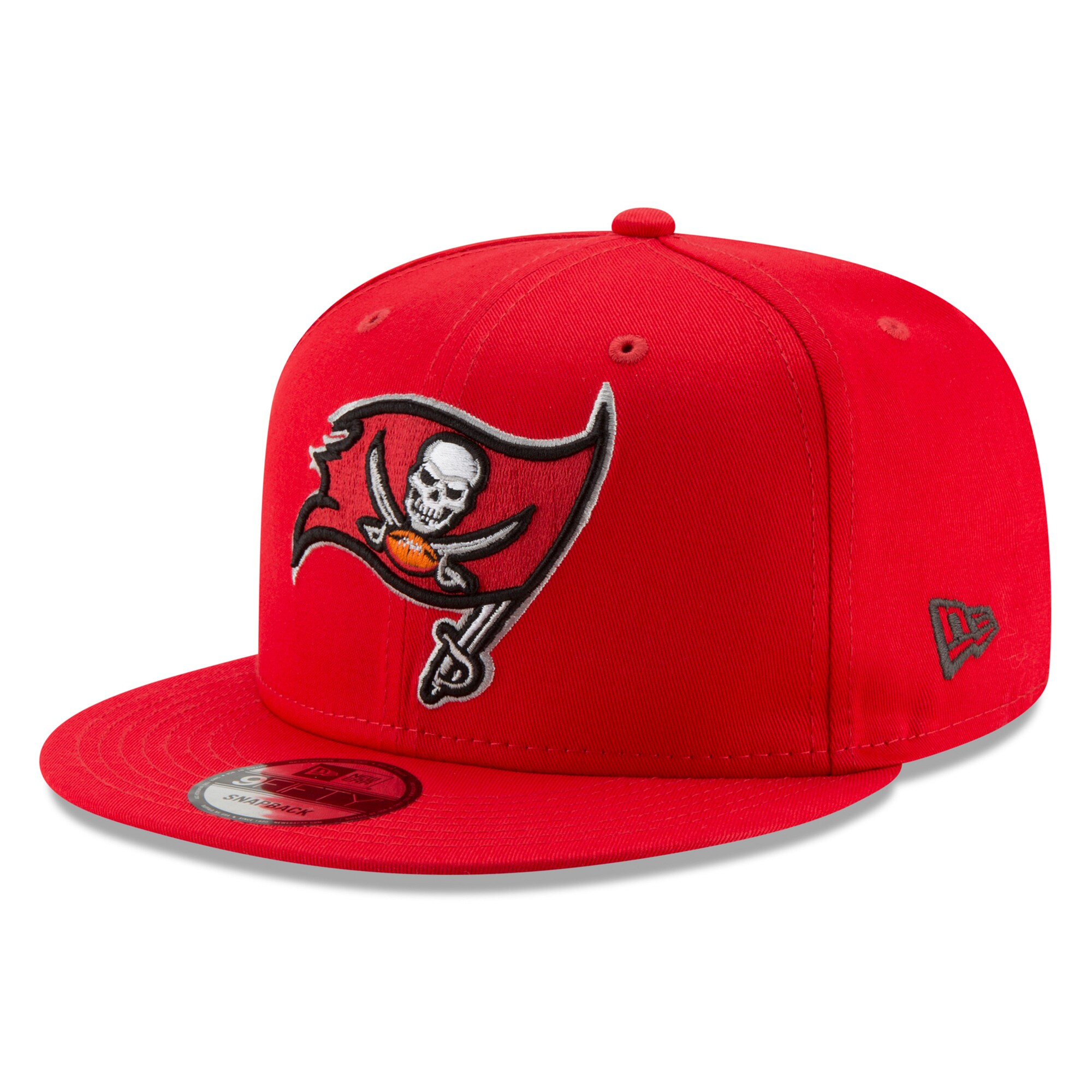 Tampa Bay Buccaneers New Era Basic 9FIFTY Adjustable Snapback Hat - Red