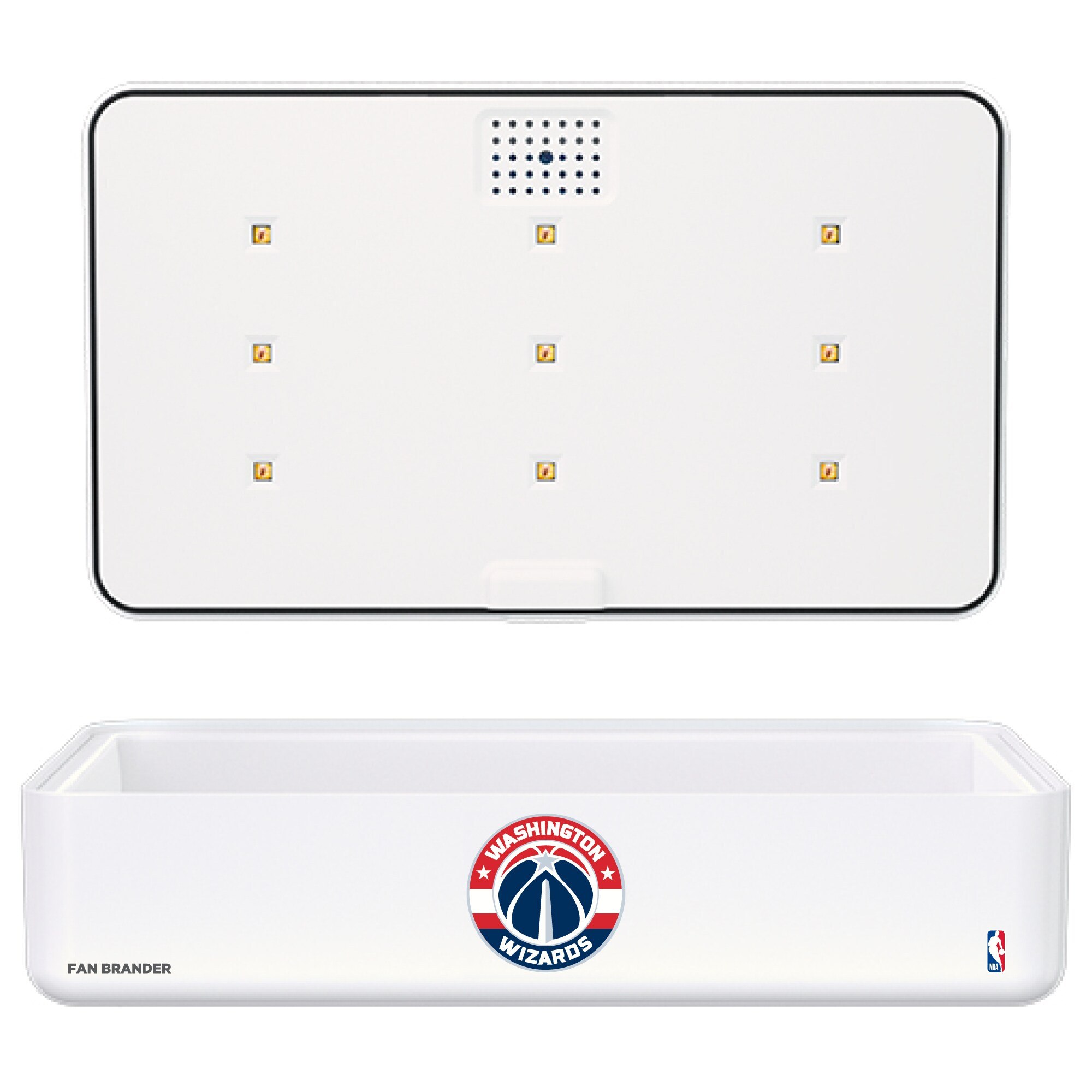Washington Wizards Portable UV Phone Sterilizer & Wireless Charger - White