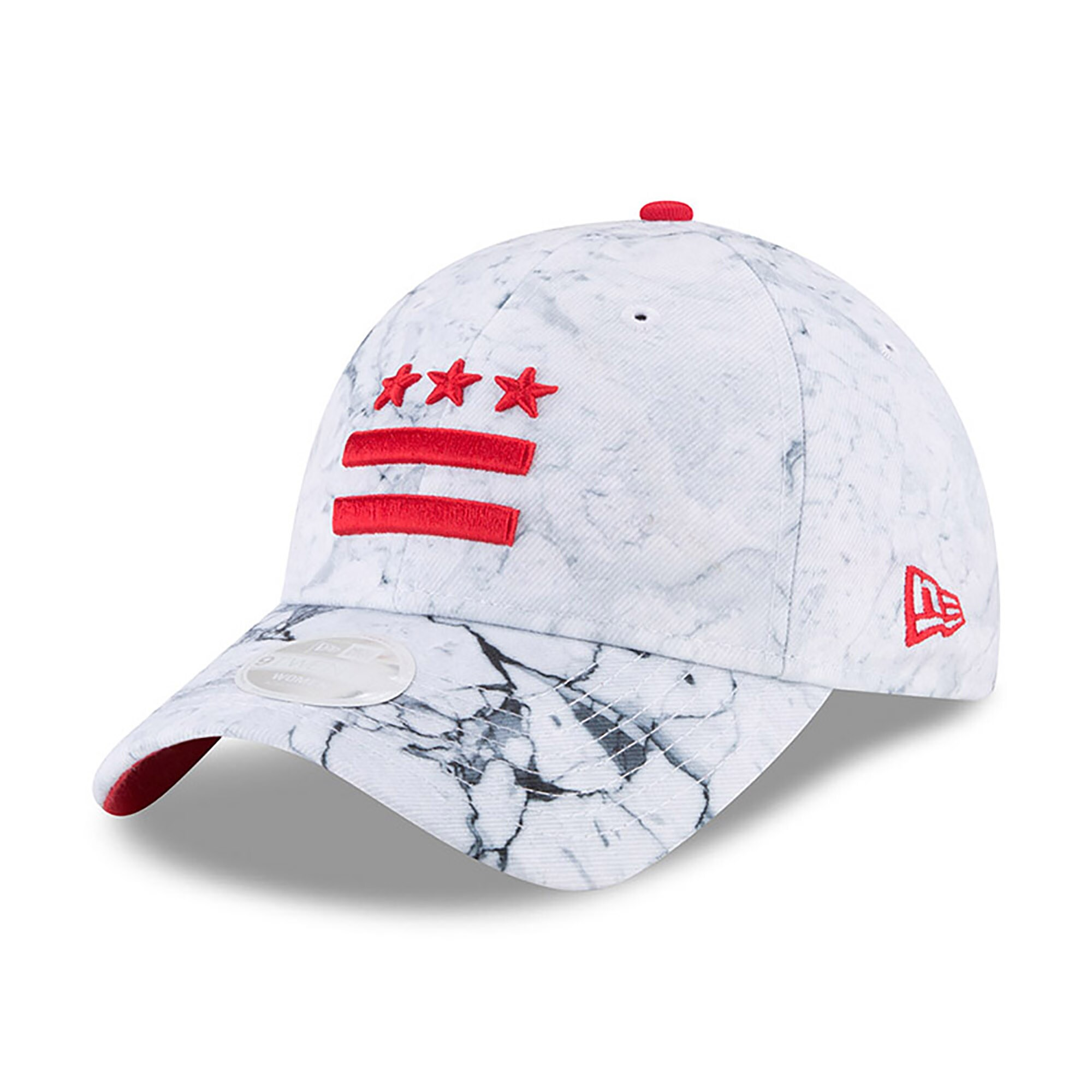 Washington Wizards New Era Women's NBA City Series 9TWENTY Adjustable Hat - White