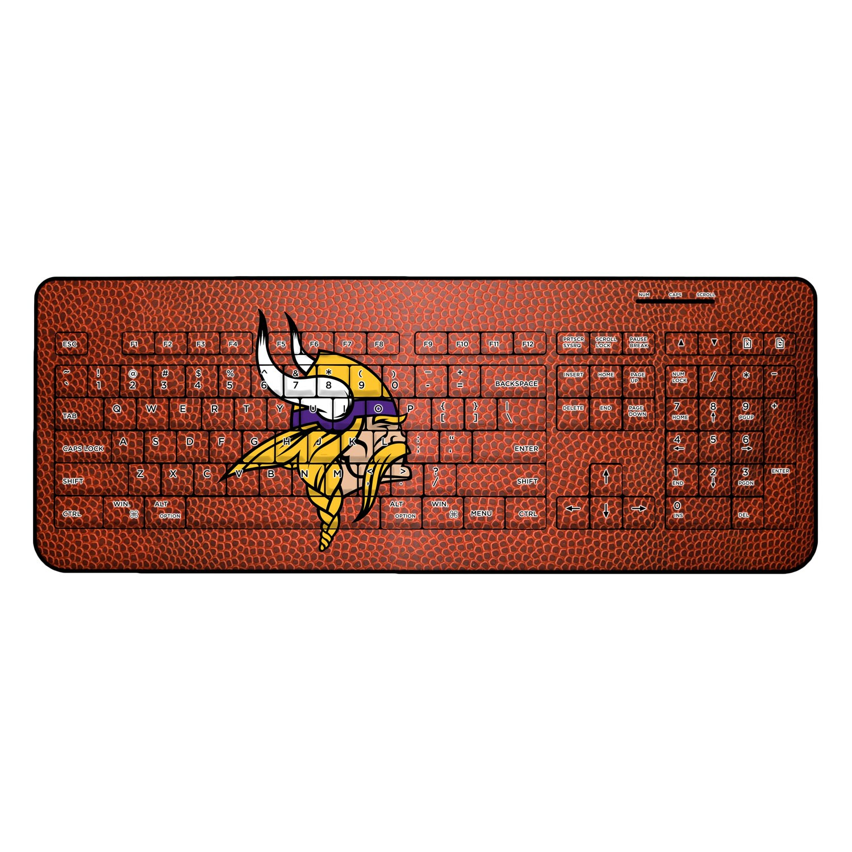 Minnesota Vikings Football Design Wireless Keyboard