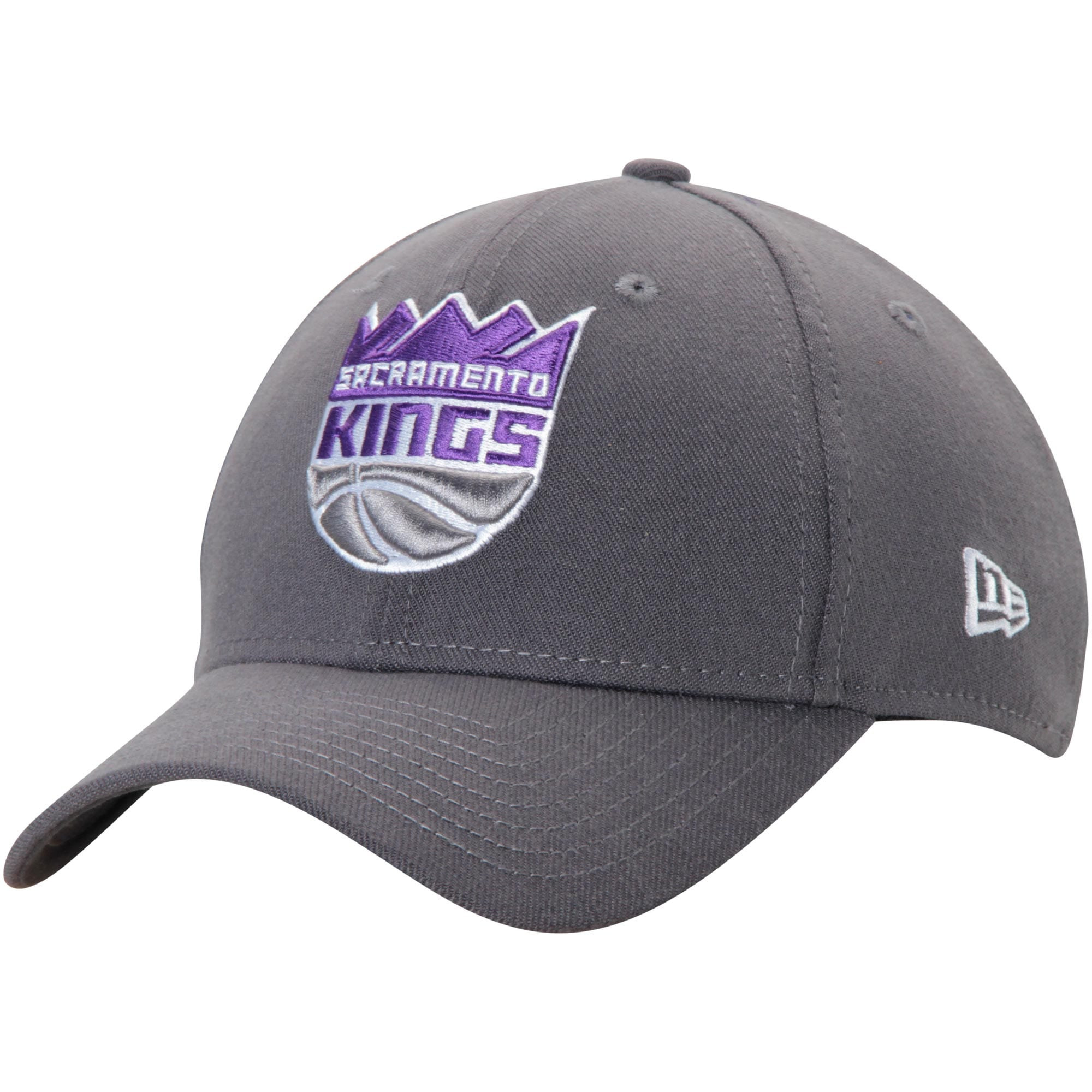 Sacramento Kings New Era Team Classic 39THIRTY Flex Hat - Charcoal