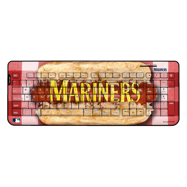Seattle Mariners Hot Dog Wireless USB Keyboard