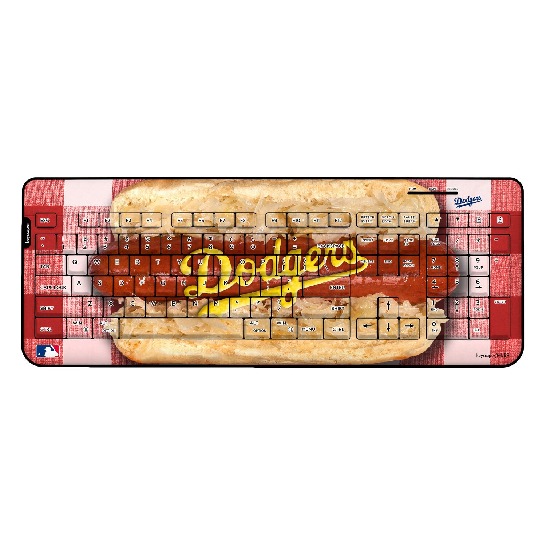 Los Angeles Dodgers Hot Dog Wireless USB Keyboard