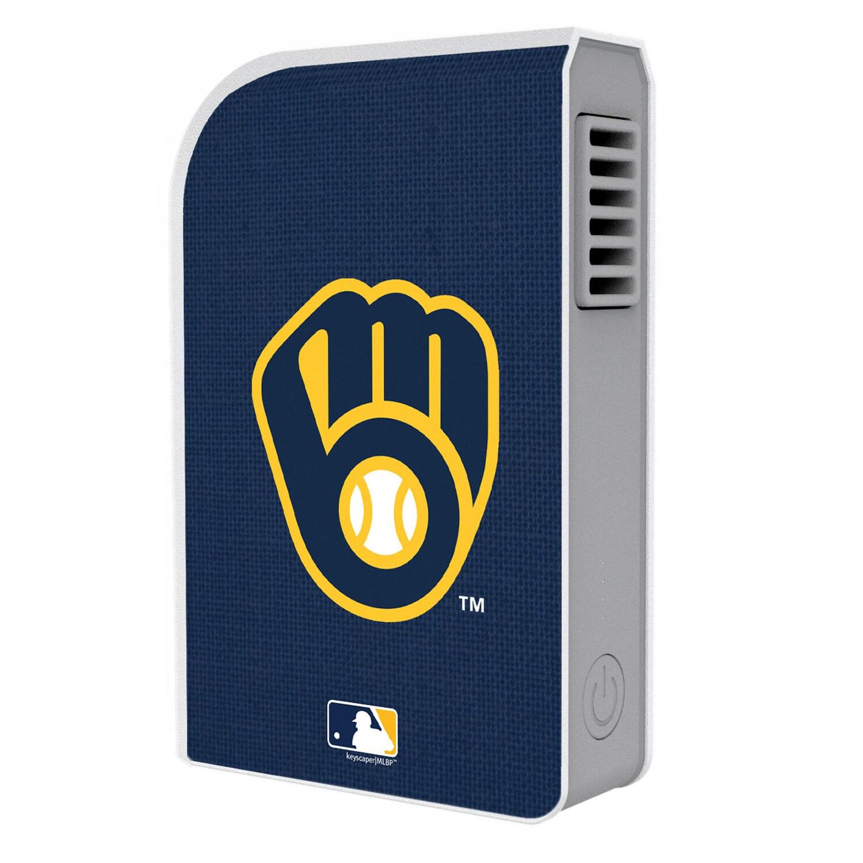 Milwaukee Brewers Alternate 6000 mAh Phone Charging Powerbank & Personal Fan
