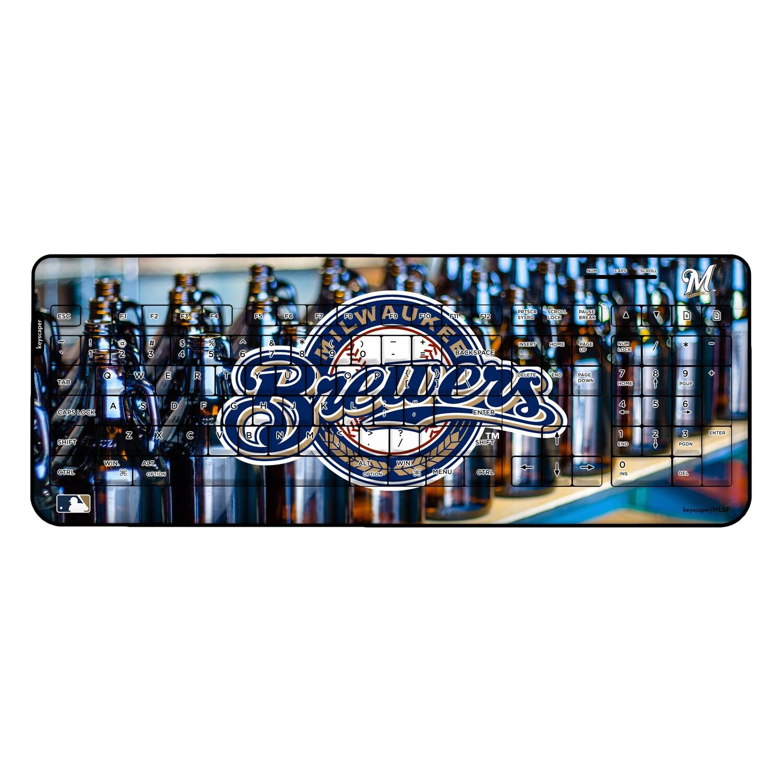 Milwaukee Brewers Alternate Wireless USB Keyboard
