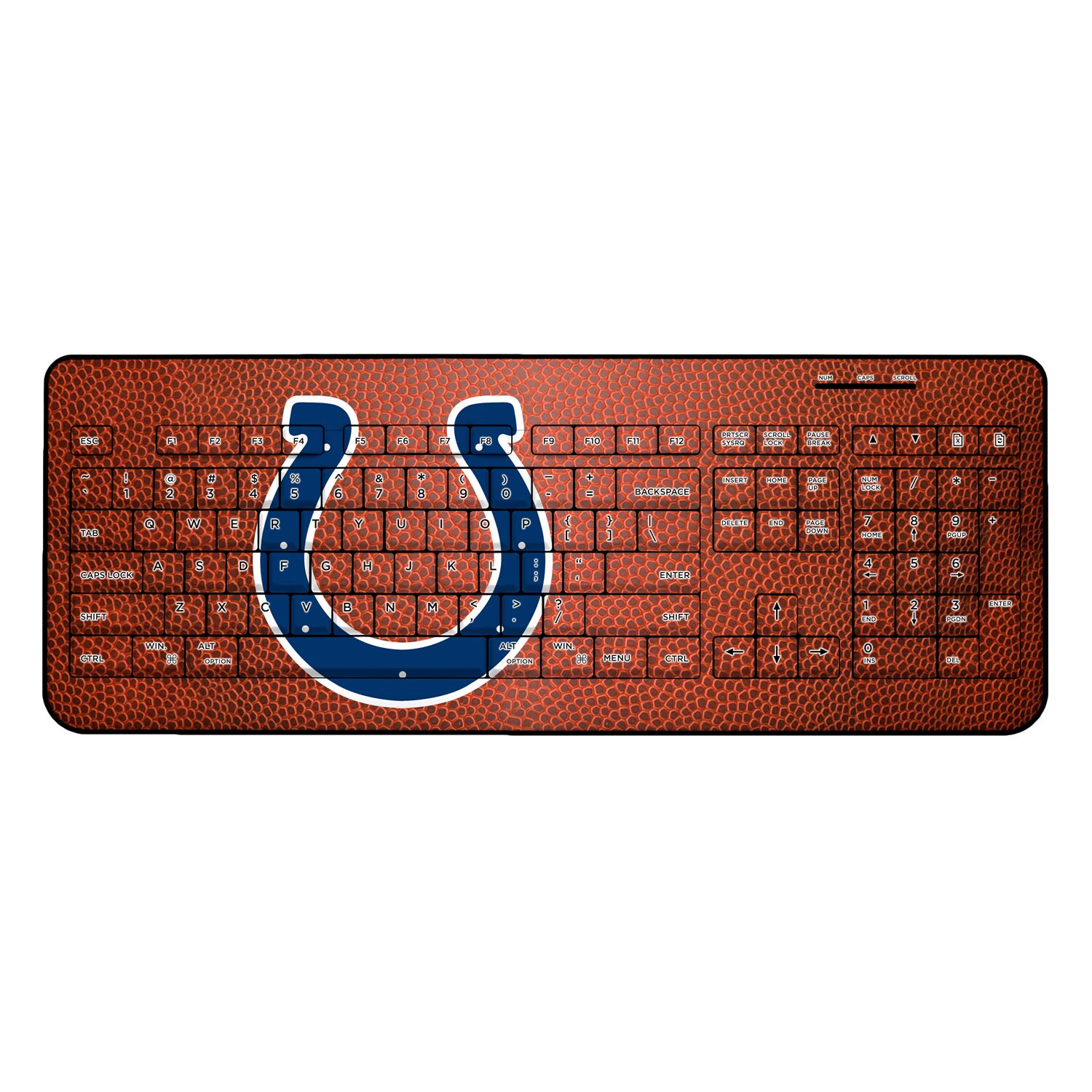 Indianapolis Colts Football Design Wireless Keyboard