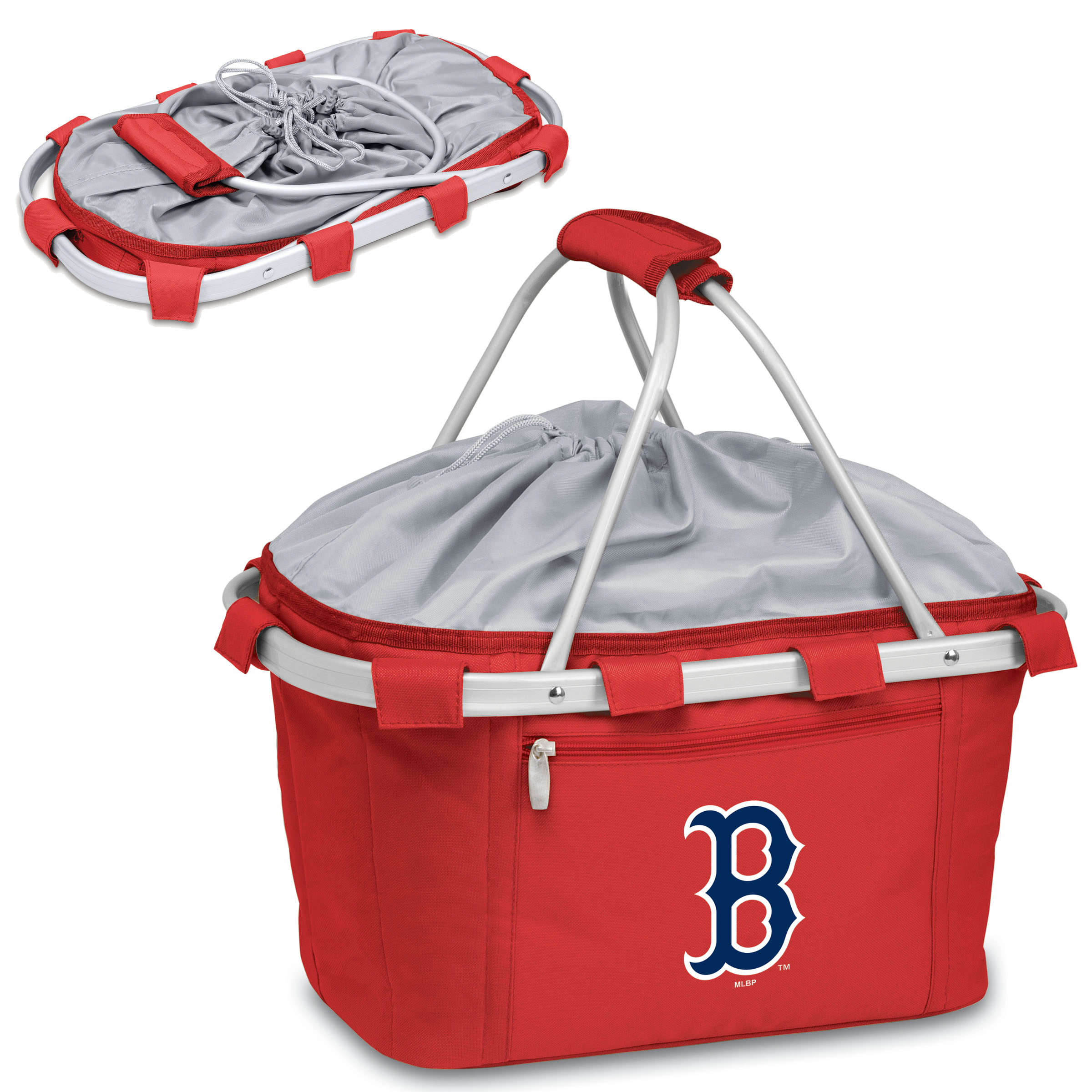 Boston Red Sox Metro Basket Collapsible Tote - Red