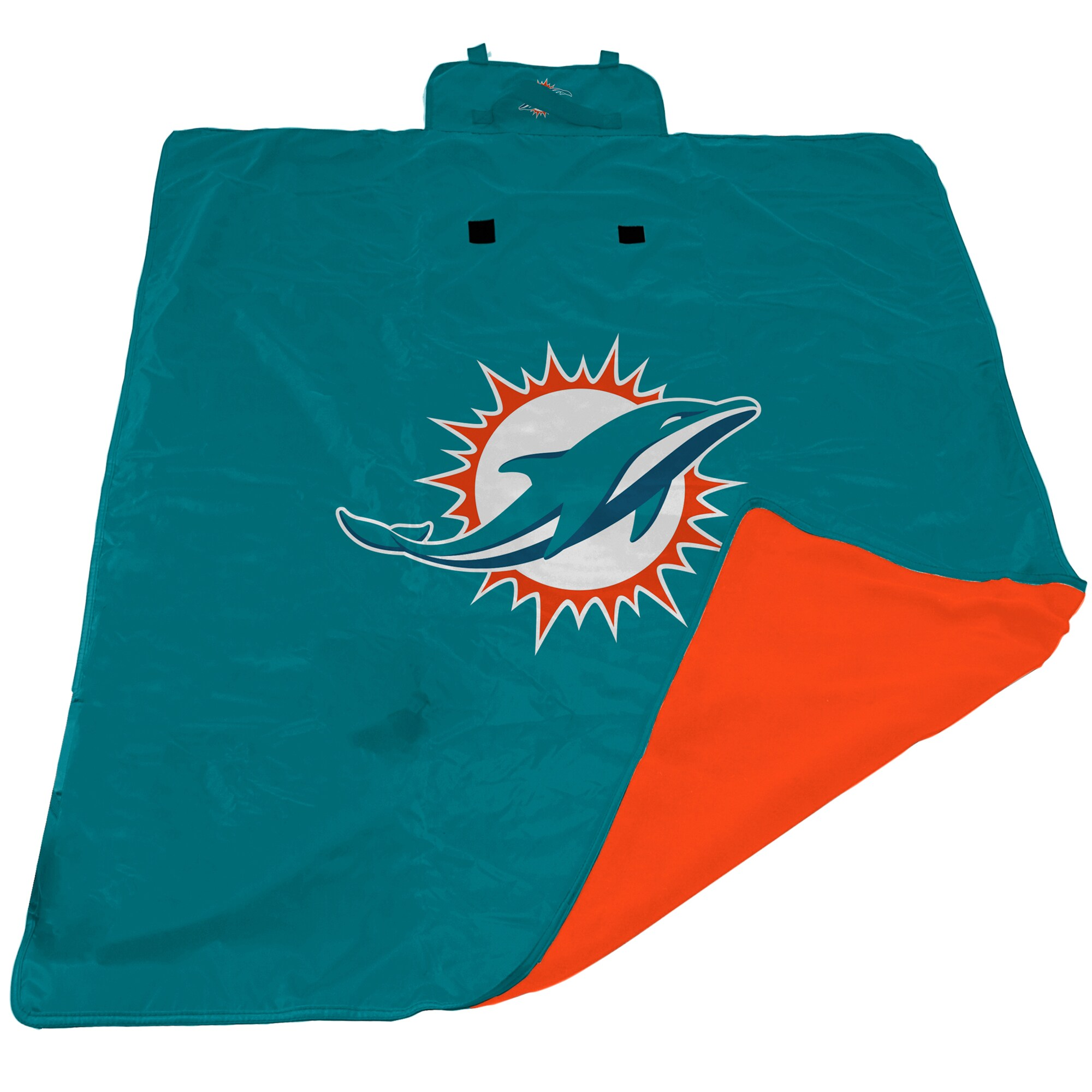 Miami Dolphins 60'' x 80'' All-Weather XL Outdoor Blanket - Aqua