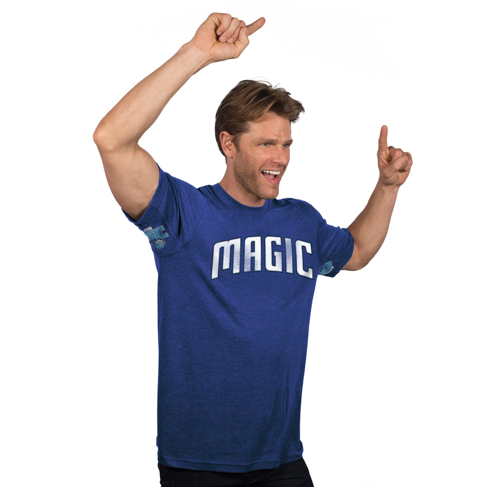 Orlando Magic Hands High Tri-Blend T-Shirt - Blue