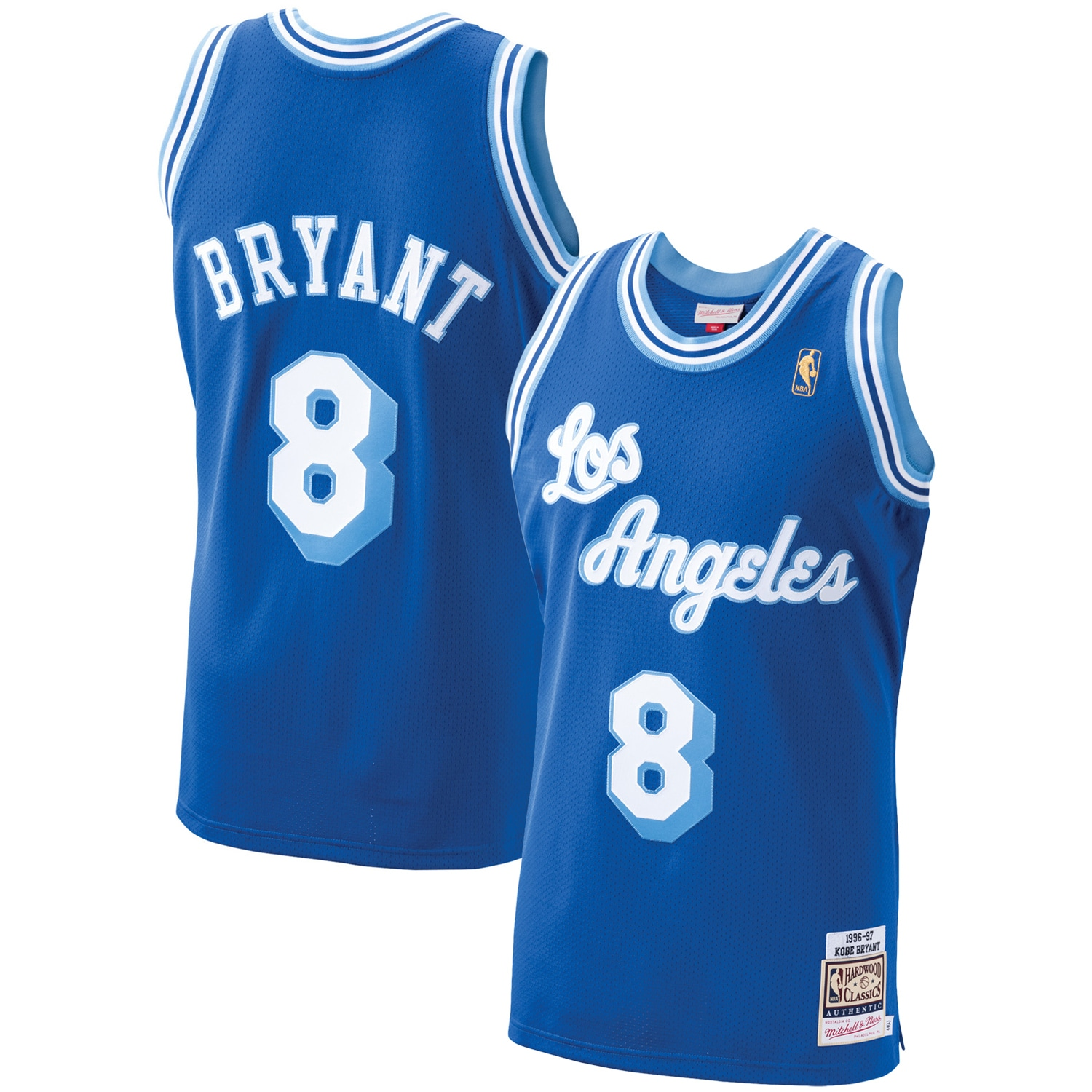 Kobe Bryant Los Angeles Lakers Mitchell & Ness 1996-97 Hardwood Classics Authentic Player Jersey - Royal