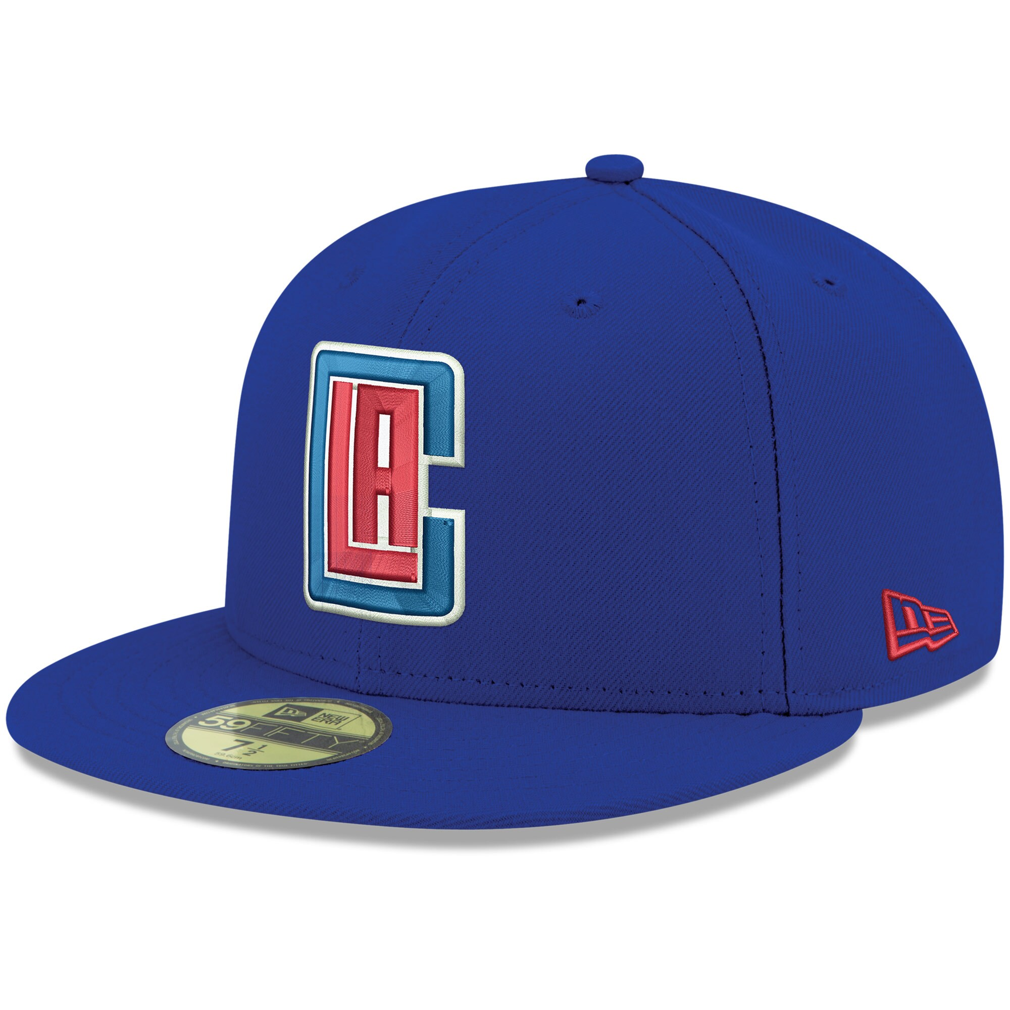 LA Clippers New Era Official Team Color 59FIFTY Fitted Hat - Royal