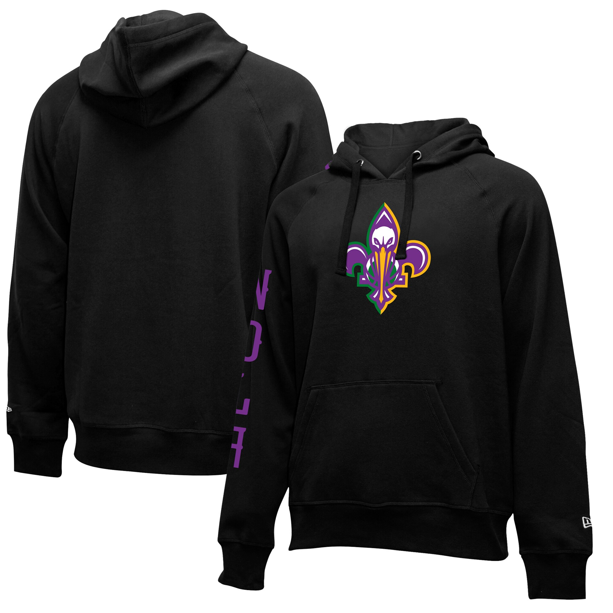 New Orleans Pelicans New Era 2019/20 City Edition Pullover Hoodie - Black