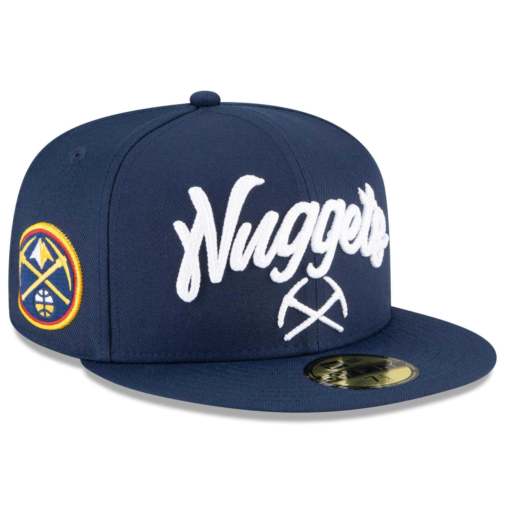 Denver Nuggets New Era 2020 NBA Draft OTC 59FIFTY Fitted Hat - Navy