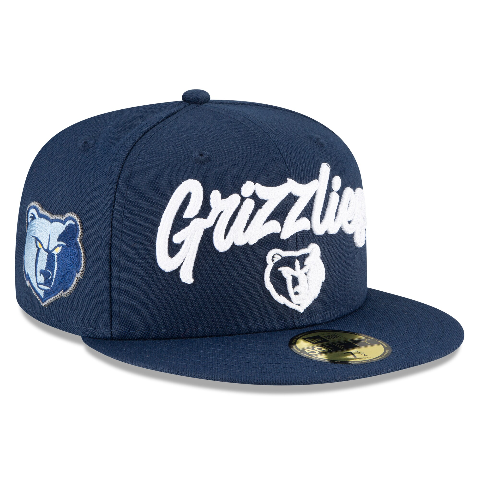 Memphis Grizzlies New Era 2020 NBA Draft OTC 59FIFTY Fitted Hat - Navy