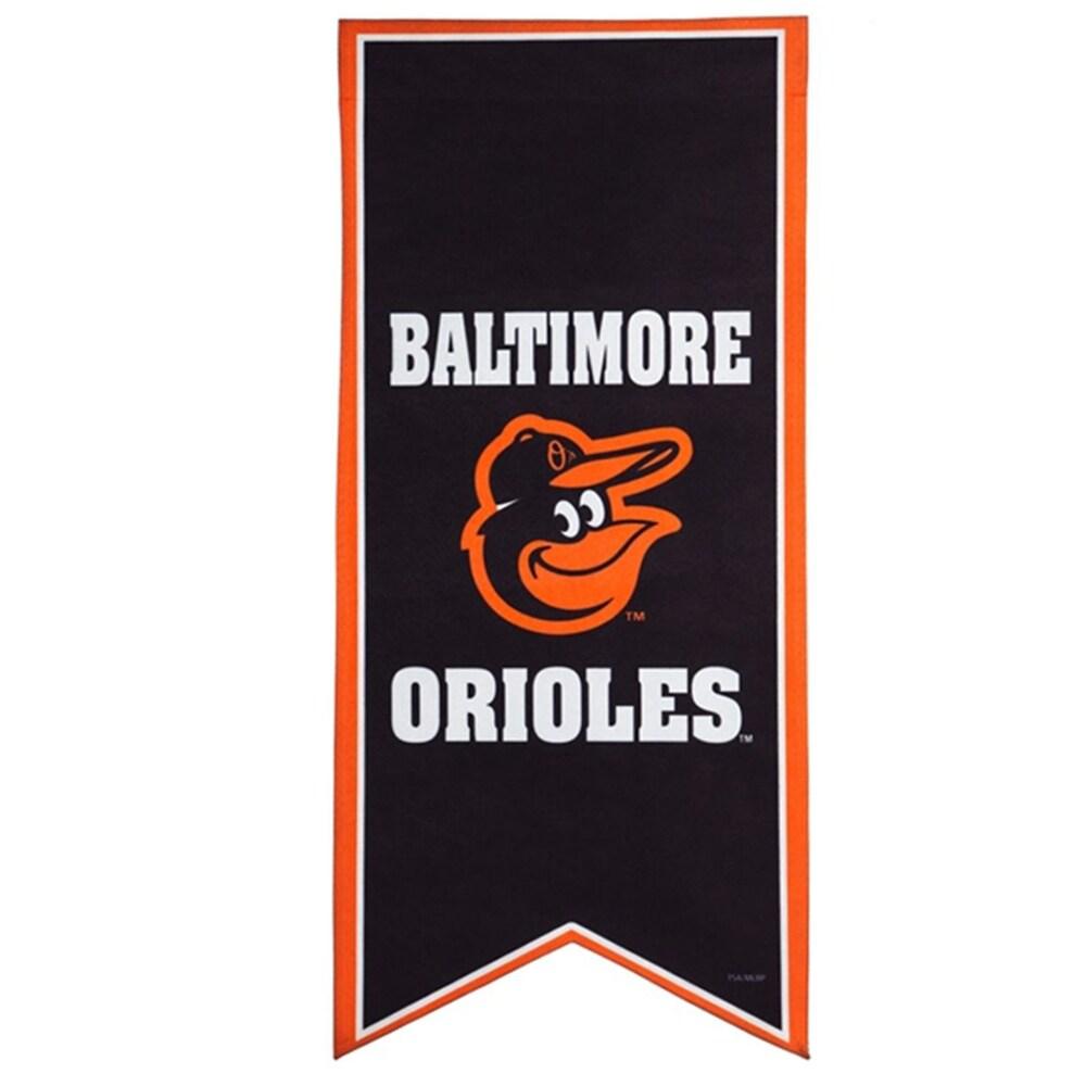 Baltimore Orioles 12.5'' x 28'' Flag Banner