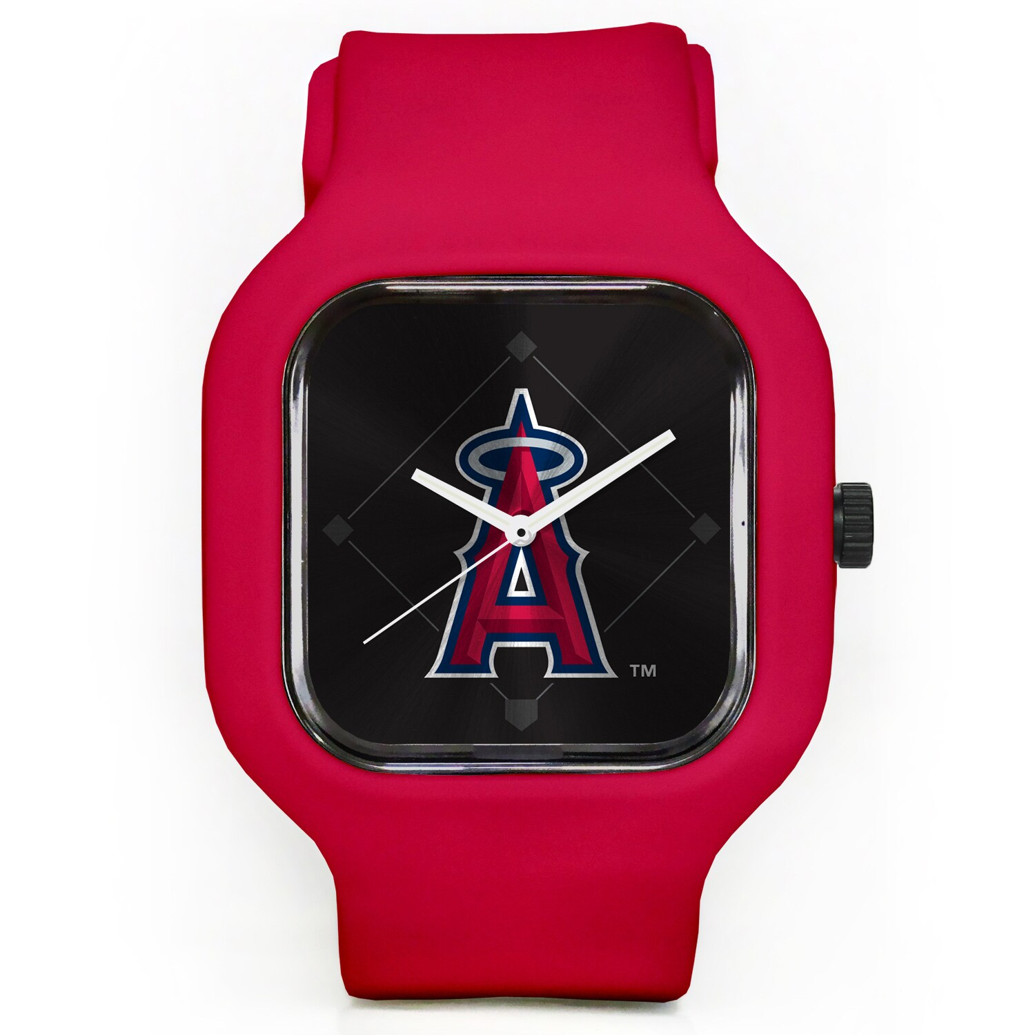 Los Angeles Angels Modify Watches Unisex Silicone Watch - Red