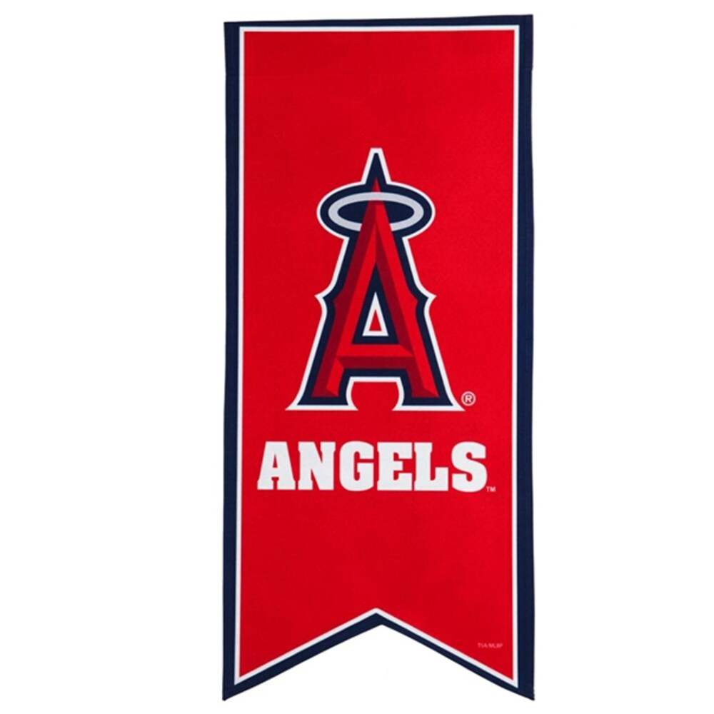 Los Angeles Angels 12.5'' x 28'' Flag Banner