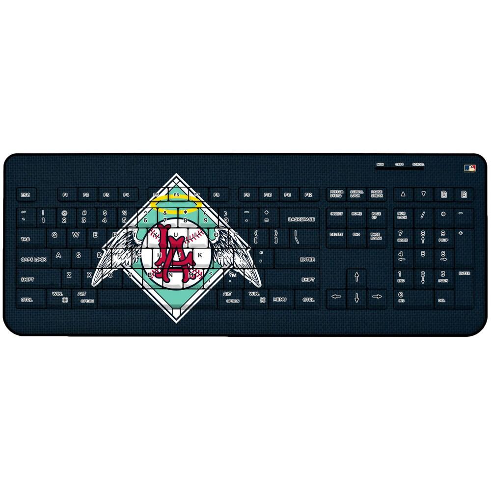 Los Angeles Angels 1961-1965 Cooperstown Solid Design Wireless Keyboard