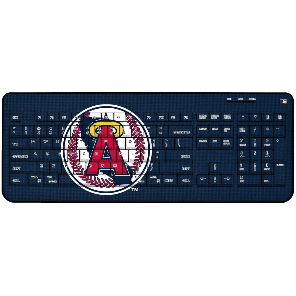 Los Angeles Angels 1986-1992 Cooperstown Solid Design Wireless Keyboard
