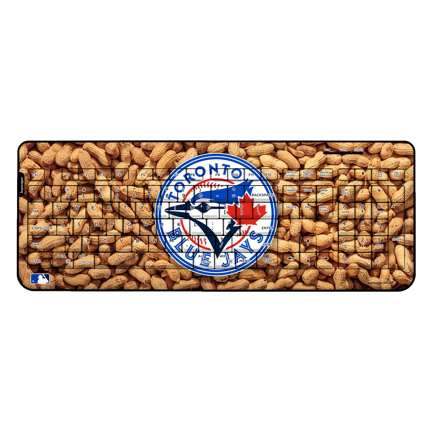 Toronto Blue Jays Peanuts Wireless USB Keyboard