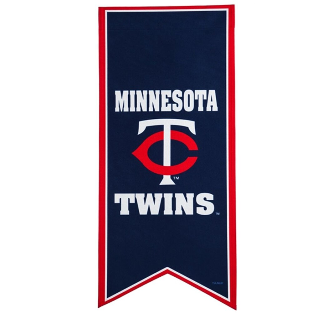 Minnesota Twins 12.5'' x 28'' Flag Banner