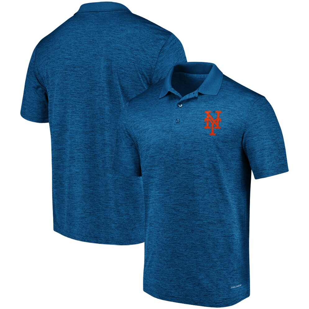 New York Mets Majestic Targeting Success Domestic Cool Base Polo - Royal