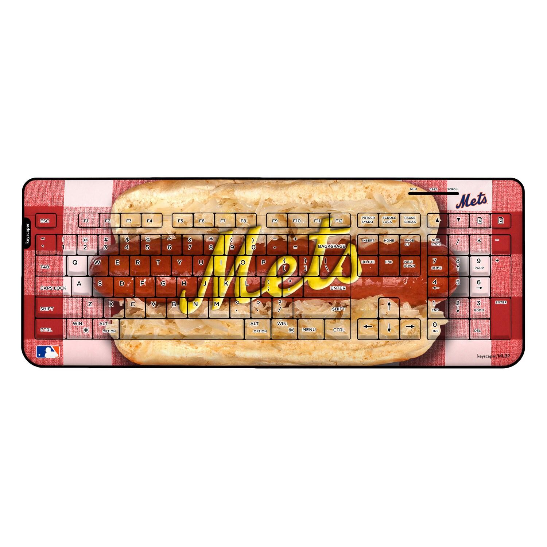 New York Mets Hot Dog Wireless USB Keyboard
