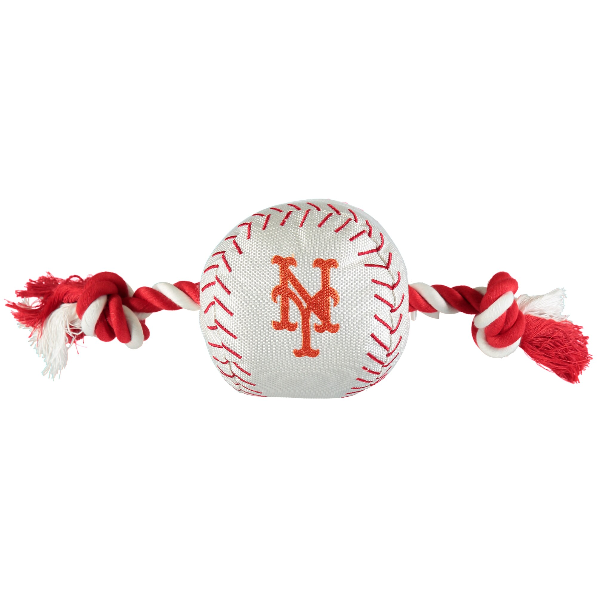 New York Mets Dog Baseball Rope Toy