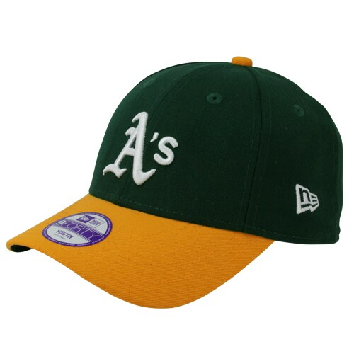 Oakland Athletics New Era Youth The League 9Forty Adjustable Hat - Green