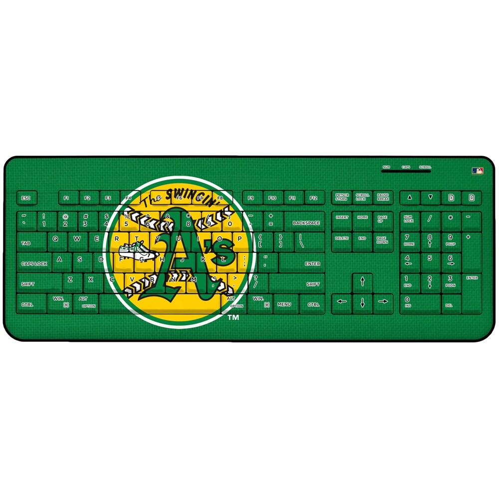 Oakland Athletics 1971-1981 Cooperstown Solid Design Wireless Keyboard
