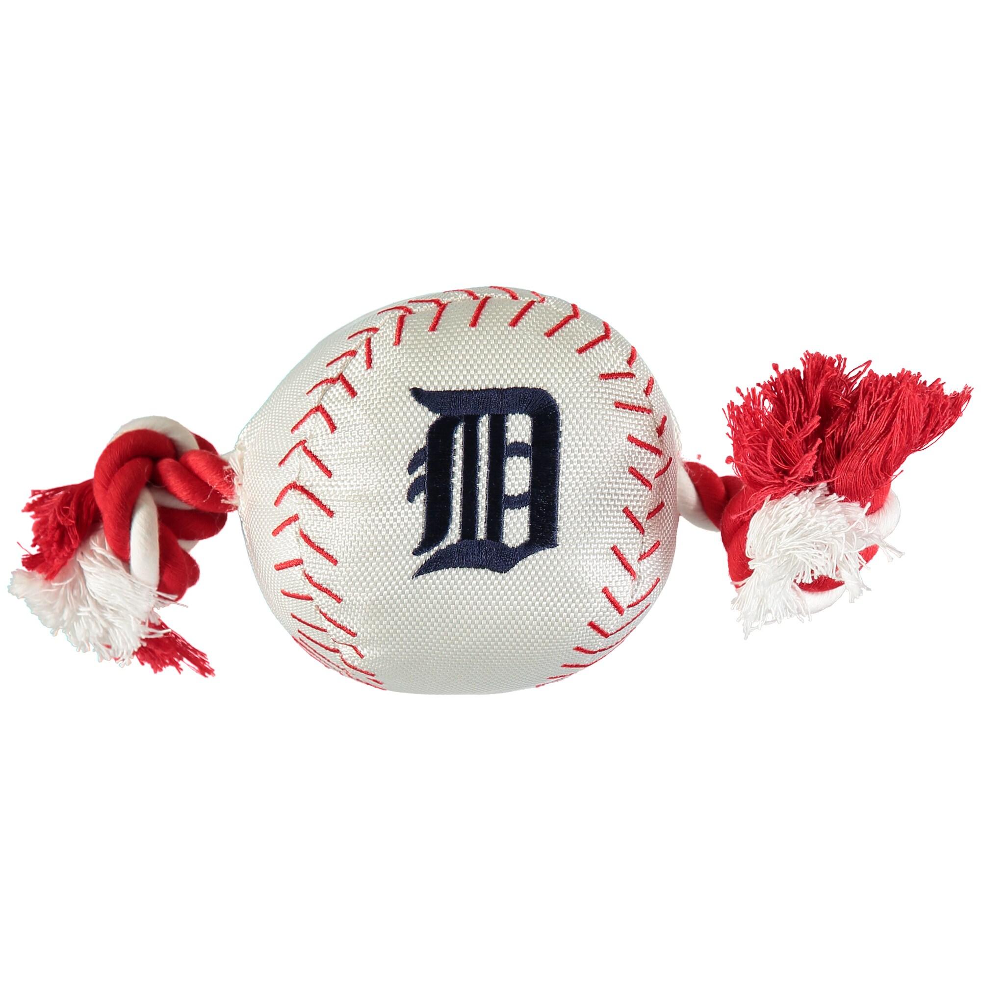 Detroit Tigers Dog Baseball Rope Toy