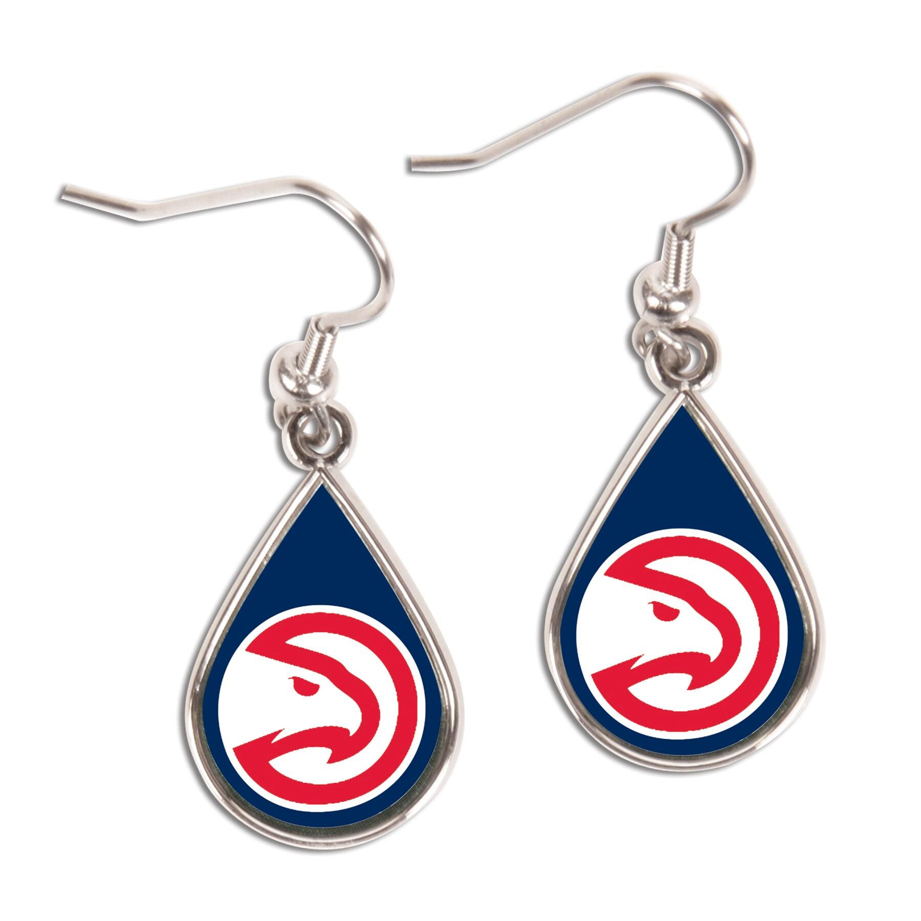 Atlanta Hawks WinCraft Tear Drop Dangle Earrings