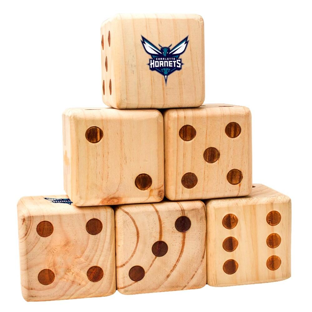 Charlotte Hornets Yard Dice Game