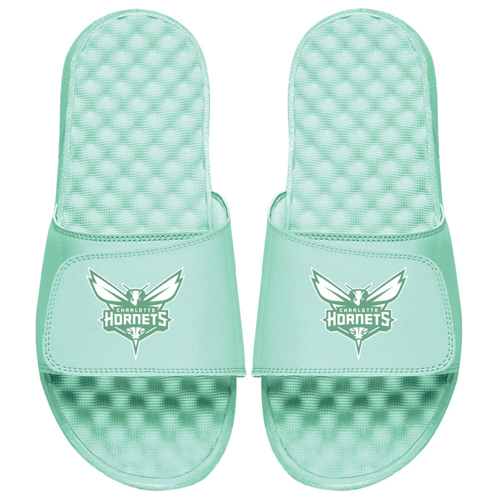 Charlotte Hornets ISlide Seafoam Collection Slide Sandals - Mint Green