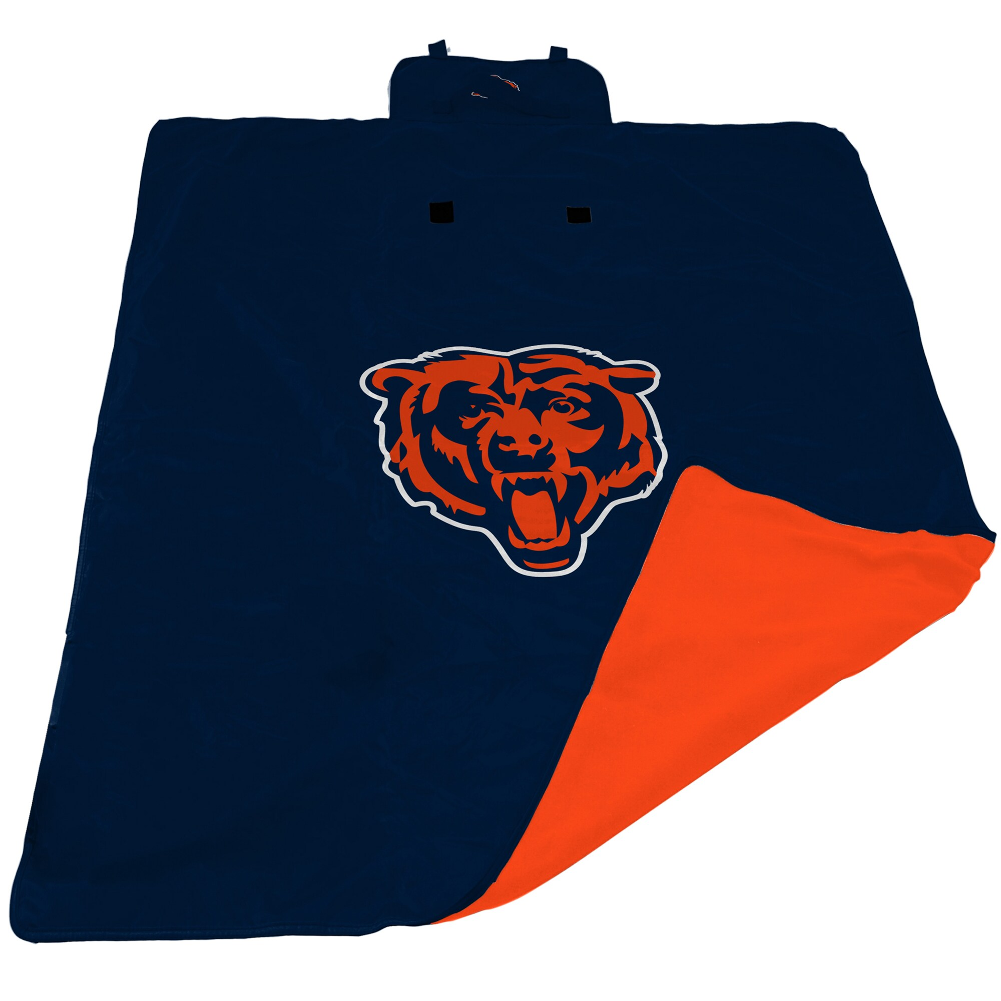 Chicago Bears 60'' x 80'' All-Weather XL Outdoor Blanket - Navy