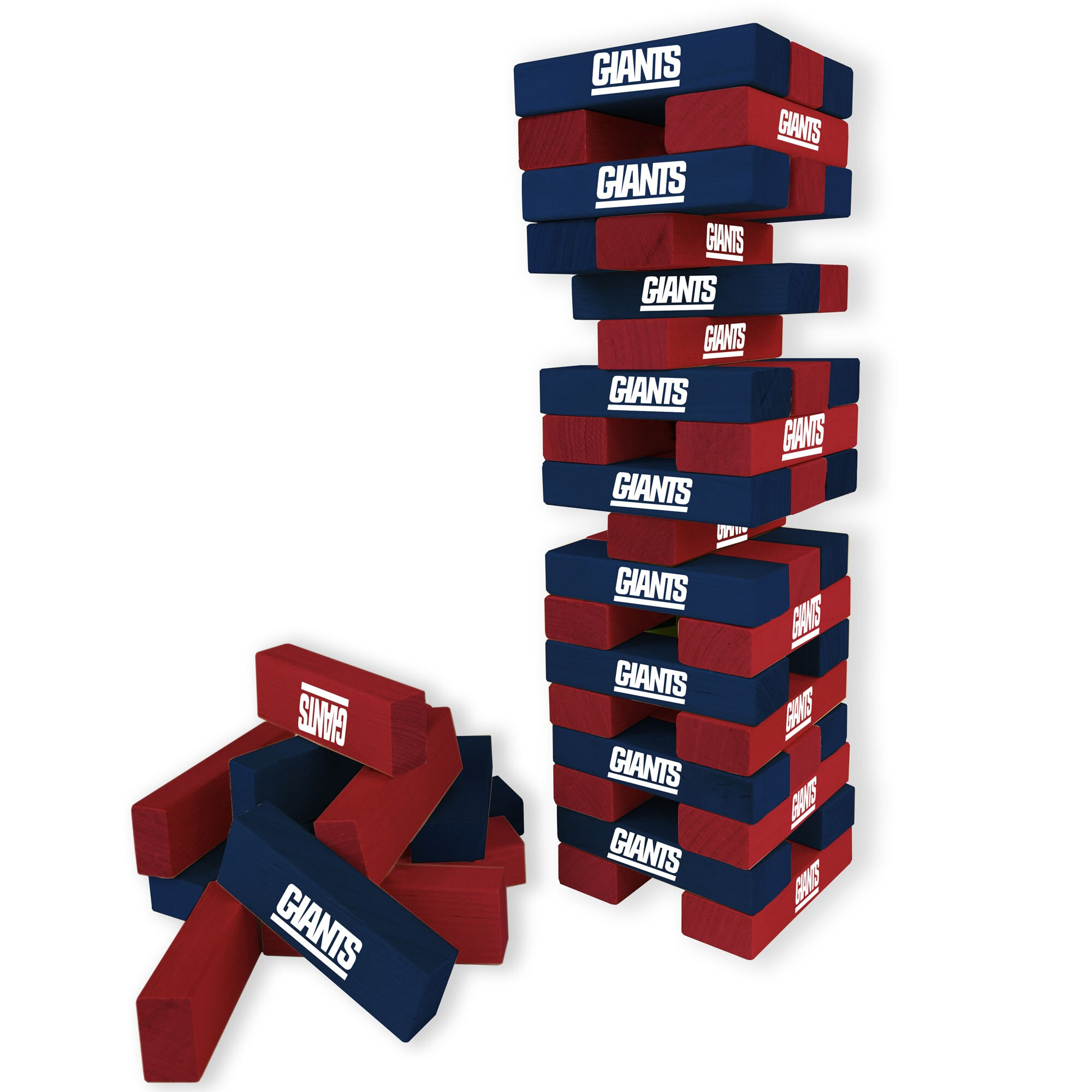 New York Giants Wooden Table Top Stackers