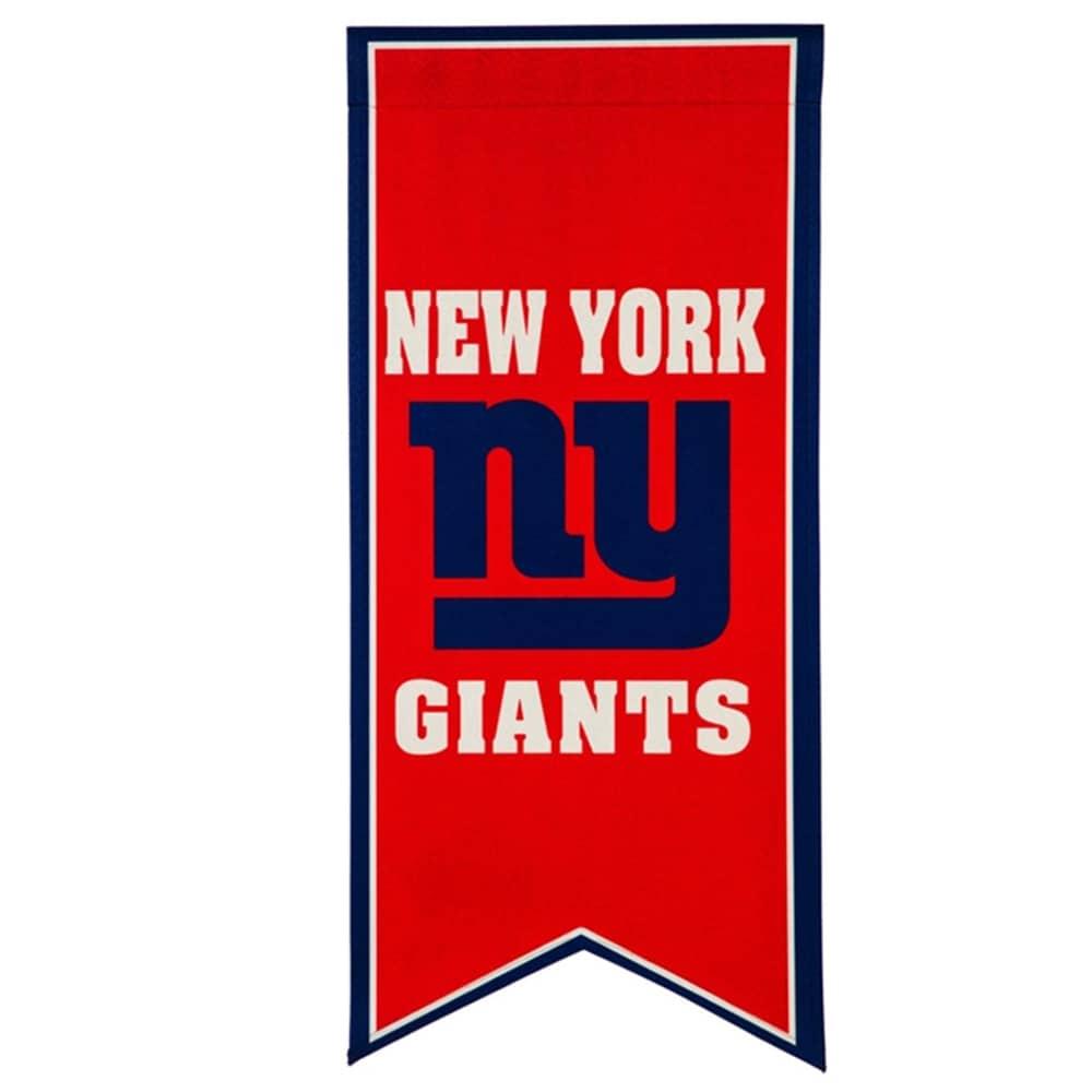 New York Giants 12.5'' x 28'' Flag Banner