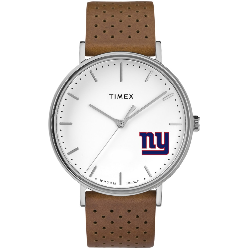 New York Giants Timex Bright Whites Tribute Collection Watch