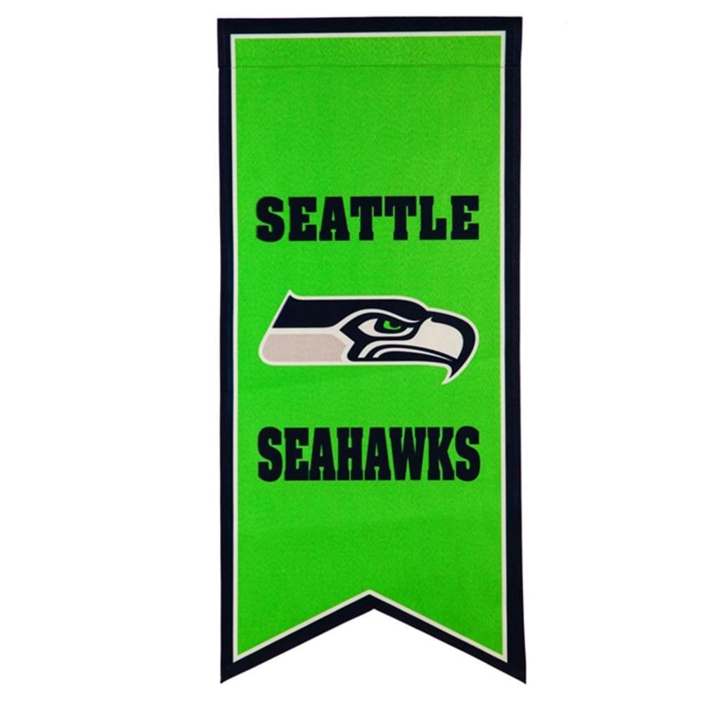 Seattle Seahawks 12.5'' x 28'' Flag Banner