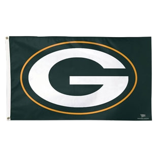 Green Bay Packers WinCraft Deluxe 3' x 5' Logo Flag