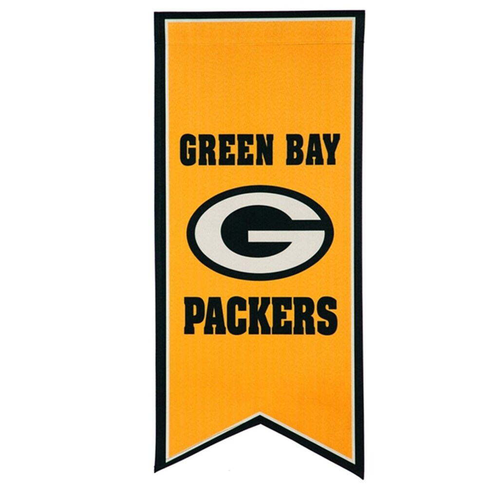Green Bay Packers 12.5'' x 28'' Flag Banner
