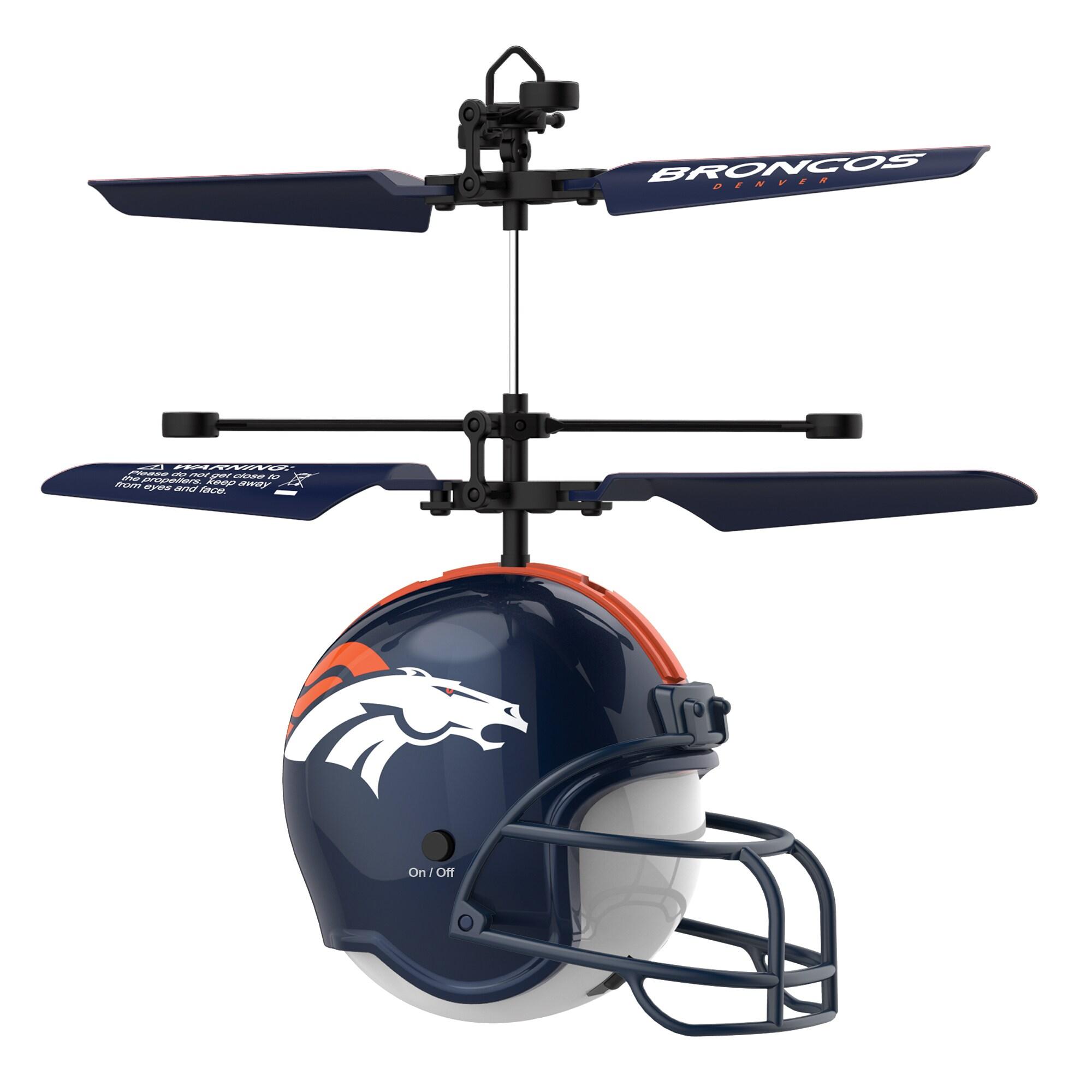Denver Broncos Remote Control Helmet Flyer