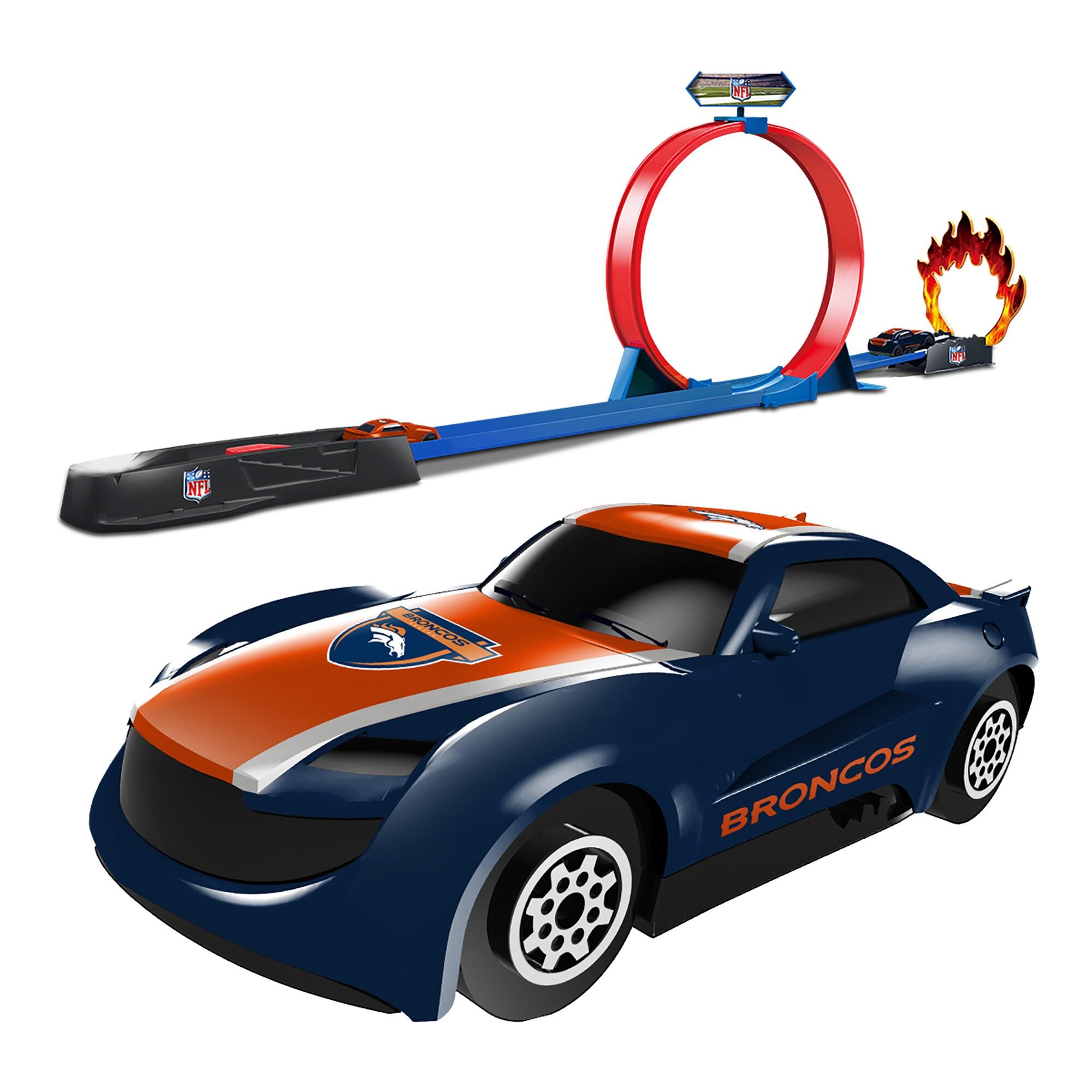 Denver Broncos Stunt Racer Track Set