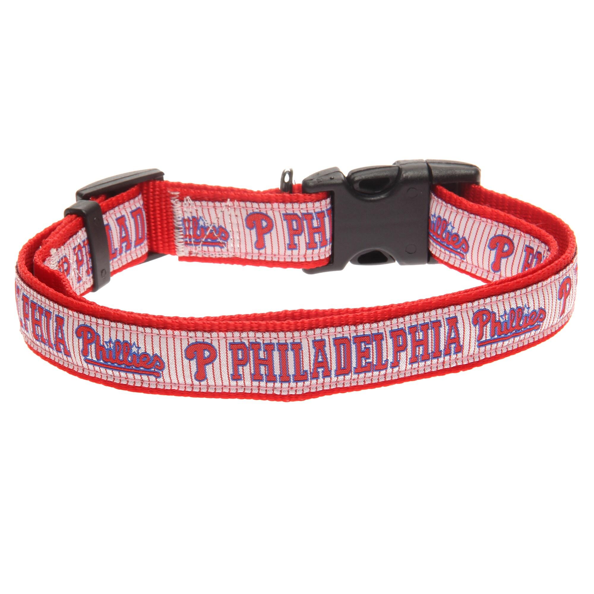 Philadelphia Phillies Nylon Dog Collar