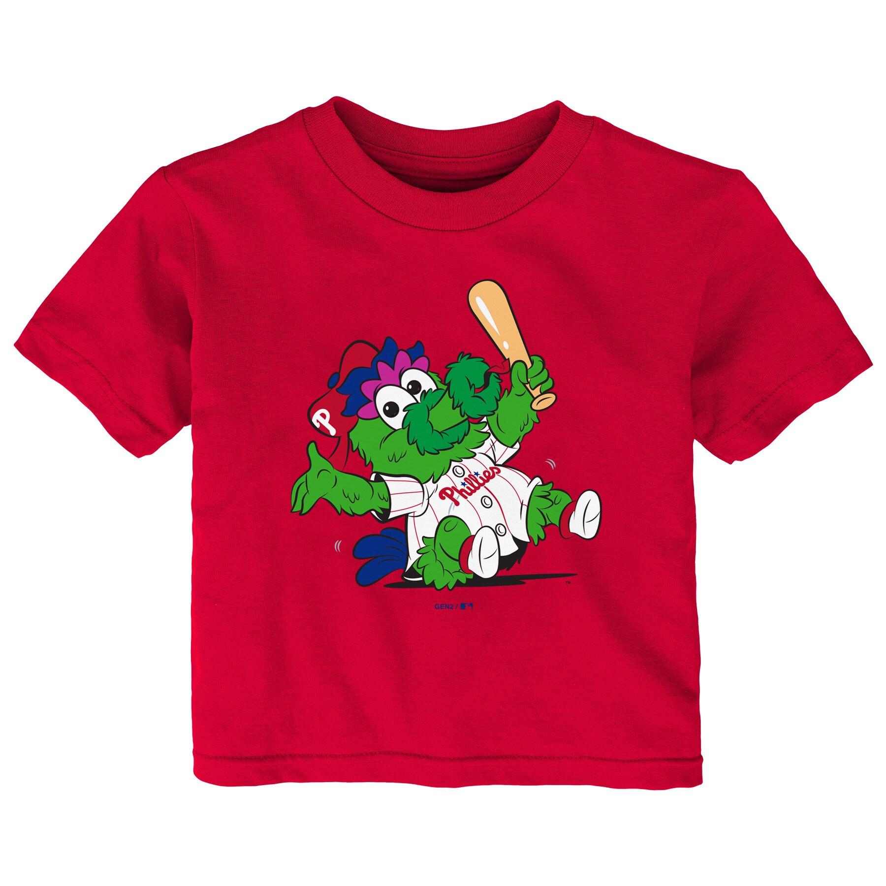 Philadelphia Phillies Infant Baby Mascot T-Shirt - Red